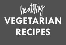 Healthy Vegetarian Recipes / Healthy recipes for breakfast, lunch, dinner and beyond. Lots of interesting ways to eat your vegetarian meals.  This board includes all sorts of healthy recipes catering to different people (includes vegan, dairy-free, nut-free, grain-free, gluten-free and sugar-free recipes as well as others).  For more of my own ideas, follow me at The Whole Happy Life!