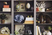 Bookshelves/Vignettes / by Rachel Wiles
