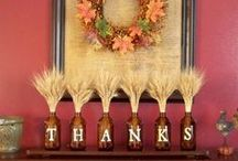 Thanksgiving Decorations / Hi! Follow my Halloween, and Halloween Costumes Board for a great Halloween. Follow me on my Seasons-Fall Decorations and onto my Thanksgiving and Christmas Boards for lots of ideas.