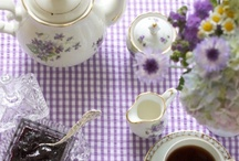 vintage tea in LAVENDER / w w w . v i n t a g e d i s h r e n t a l . c o m / by Vintage Dish Rental