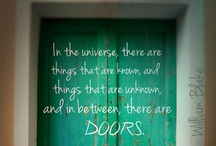 Doors / There is just something about a beautiful door :
