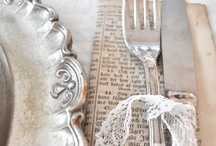 party PLACESETTINGS / by Vintage Dish Rental