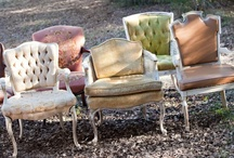 vintage CHAIRS & SOFAS / by Vintage Dish Rental