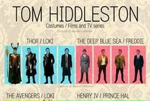Tom Hiddleston (The Roles) / This one is for the photos of Tom in character.