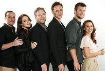Tom Hiddleston & Friends / Tom Hiddleston with other celebrities
