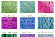PASSIONS: Knitting & Crochet / All things I can make with wool, to teach myself to knit & crochet