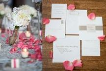 Real Weddings / Weddings that feature invitations and more from Epitome Papers