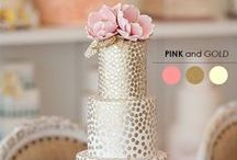 Icing, Sprinkles, and Frosting / The best inspiration for your wedding cake! #Weddings