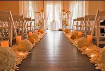 Walking Down the Aisle / Ideas and Inspiration for the wedding ceremony!