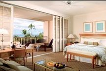 Hawaii | Accomodation / Whether you're on a budget or looking for a 5-star hotel this board will give some great ideas on where to stay in Hawaii: Oahu, Maui, Kauai, Lanai, Molokai, The Big Island.