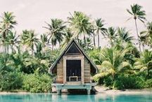 MWH | Amazing Places / If it was up to us, we would have all of you honeymoon with us in the Pacific- But some places are just too incredible to not consider. Let you imagination wander with us!