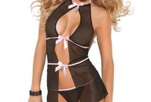 "Sexy Sleepwear / Sleepwear also known as ""nightwear"", is clothing designed to be worn while sleeping. Your style of nightwear can be anything from a babydoll, a chemise, negligee, a night shirt or any sleepwear that will fit your style of comfort.  / by Girlfriends Lingerie"