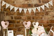 Wedding Reception Decor / Lots of décor ideas and inspiration for your wedding reception.