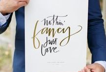 Wedding | Words / Inspiring love quotes and words for writing your vows.