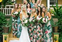 Bridal Style | Bridesmaids / An important part of every wedding! Style inspiration coming your way! /////FOR MORE GORGEOUS EYE CANDY //// http://modernweddingshawaii.com/