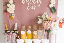 Wedding | Drinks / C H E E R S  to wetting your whistle in style with these delicious wedding inspired drinks for every season.