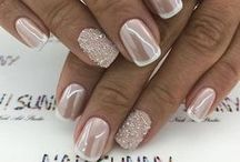 Bridal Style | Nails / Gorgeous bridal nail style inspiration for the MWH bride.