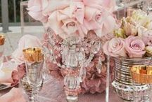 Pretty in Pink / Think your wedding color scheme should emphasis pink? You've come to the right board! Gain inspiration on how to add a romantic touch to your wedding by using the color pink. #WeddingColors #Pink #WeddingInspiration #ColorScheme