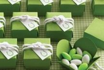 Green Color Scheme / In honor of St. Patrick's Day, we're feeling inspired to share some wedding ideas that incorporate the color green! #WeddingInspiration #StPattysDay #Green #WeddingTheme #ColorScheme