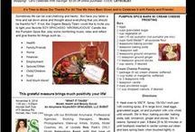SOY SPACASSO Organic Beauty Newsletter