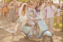 The Great Escape / Escape your wedding in style! Here are our favorite ideas on how to leave your special day with a BANG. #WeddingInspiration #WeddingIdeas #WeddingTransportation #WeddingCar