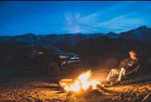 Camping / The #4Runner & #Tacoma are the perfect camping companions in Lone Pine, CA.