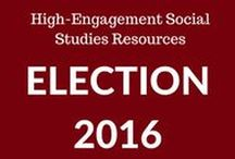 Boom! Social Studies Resources / Highly engaging, self-grading social studies resources for teachers to help teach and review government, geography and world religion studies during the Election 2016 cycle.