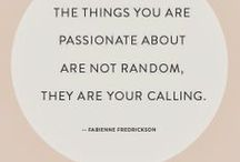 Quotable / Quotes to live by & laugh by  / by Caroline Houston