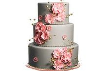 Wedding Cakes / Beautiful AND delicious.  / by Appy Couple