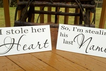 He stole my heart, so I'm stealing his last name / For the future *I do's* / by Casey Ogan-Gray