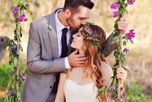 Purple Wedding Story / Purple is one of the most popular colors to incorporate into a wedding. Check out some ideas here! https://www.appycouple.com/signup?q=signup&color=purple / by Appy Couple
