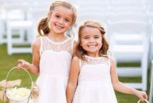 Flower Girls / Don't forget about the little ones! Great ideas for everything from dresses to hair-dos for the little flowers girls. / by Appy Couple