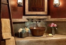 Bathroom-Salle de bain-Baño / by Edith