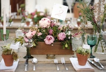 Wedding table decor / by Veruschka Crafford