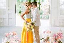 Yellow Wedding Story / Check out these pins for ideas to incorporate bright and sunny yellow tones into your wedding! https://www.appycouple.com/signup?q=signup&color=yellow / by Appy Couple