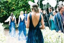 "Blue Wedding Story / All kinds of fun and pretty ways to incorporate a little ""something blue!"" https://www.appycouple.com/signup?q=signup&color=blue / by Appy Couple"