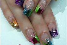 Finger Nail Art #2 / by Nikki