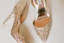 Wedding Shoes / Shoes, glorious shoes.  / by Appy Couple