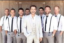 Handsome Grooms / Our favorite looks for the men in your wedding.  / by Appy Couple