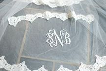 Wedding Monograms / What Bride Doesn't Love their New Initials?