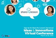 Free Professional Development Webinars / Listen and download materials from Share My Lesson's free webinar series featuring educators and content partners.