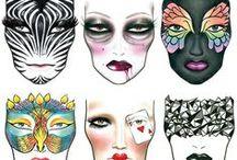 Makeup Face Charts I love / makeup, face charts