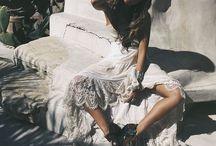 Gypset Fashion / Gypsy wanderlust fashion inspiration