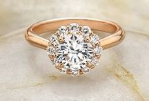 Engagement Rings / Diamonds are a girl's best friend. Here we've curated a beautiful collection of engagement rings. https://www.appycouple.com/signup?style=sparklers / by Appy Couple