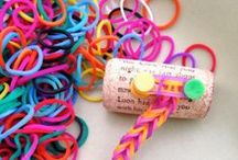 Loom Bands / A loot of things you can do with Loom Bands
