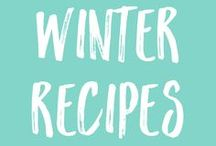 Healthy Recipes | for WINTER / Winter recipes are filling and warming. They're comfort food at its best. Slim things down with these healthy and skinny winter recipes.