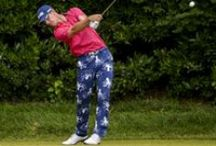Craziest pants on TOUR / Saturday at THE PLAYERS Championship is known as Crazy Pants Saturday. If you are looking to join the party and need some ideas, our Style Insider Greg Monteforte has ranked the 20 funkiest, wildest and most outrageous pairs of trousers seen on the PGA TOUR. / by PGA TOUR