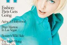 Harper's Bazaar & W Magazine Covers