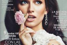 Models & Flowers