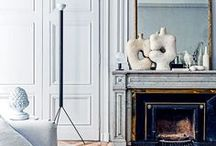 French Modern / Midcentury modern with a luxe, French edge.